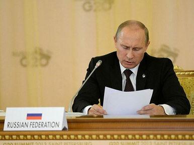 Kowal: Gdyby Putin był chory, sytuacja przypominałaby tę po śmierci Stalina