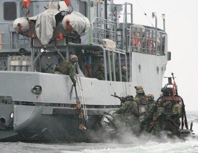 Polscy komandosi w kilka minut opanowali wrogi okręt