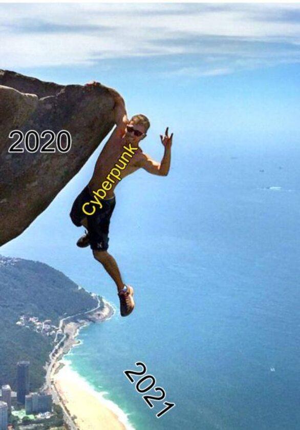 Mem po kolejnym przesunięciu premiery Cyberpunka 2077. Last of Us 2 największym wygranym?