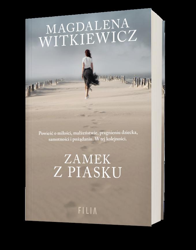 """Okładka książki """"Zamek zpiasku"""""""