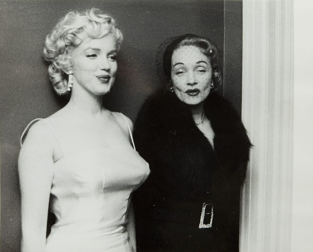 Marilyn Monroe i Marlena Dietrich
