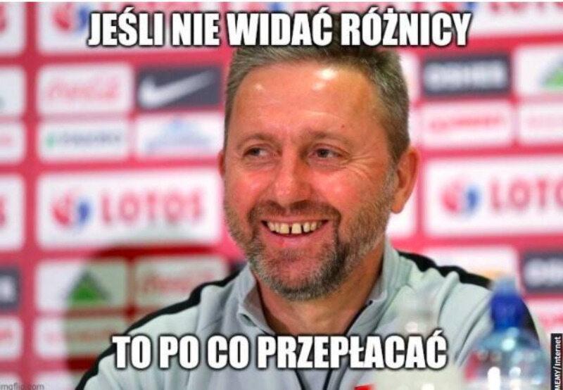 Memy po meczu Polska-Słowacja