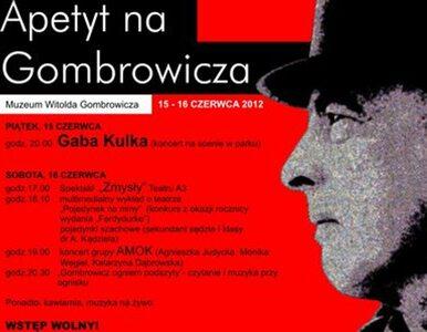 """Piknik u Gombrowicza: pojedynek na miny w 75. rocznicę wydanie """"Ferdydurke"""""""