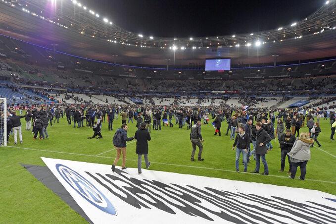 Stade de France, zamach wParyżu
