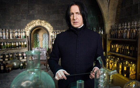 To Snape! On czaruje miotłę!