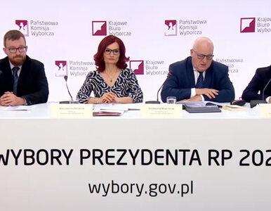 """Pierwsza konferencja PKW. Marciniak poinformował o podejrzeniu """"korupcji..."""
