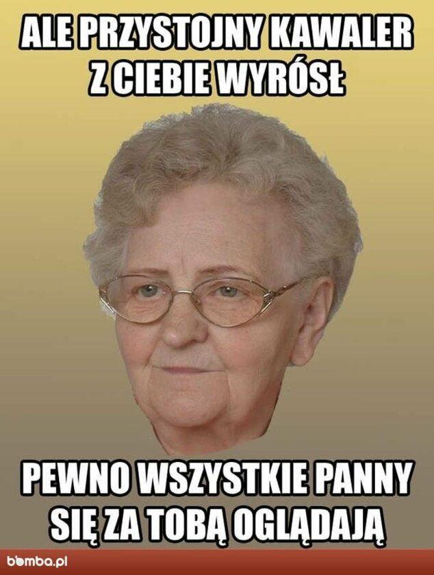 Memy na Dzień Babci