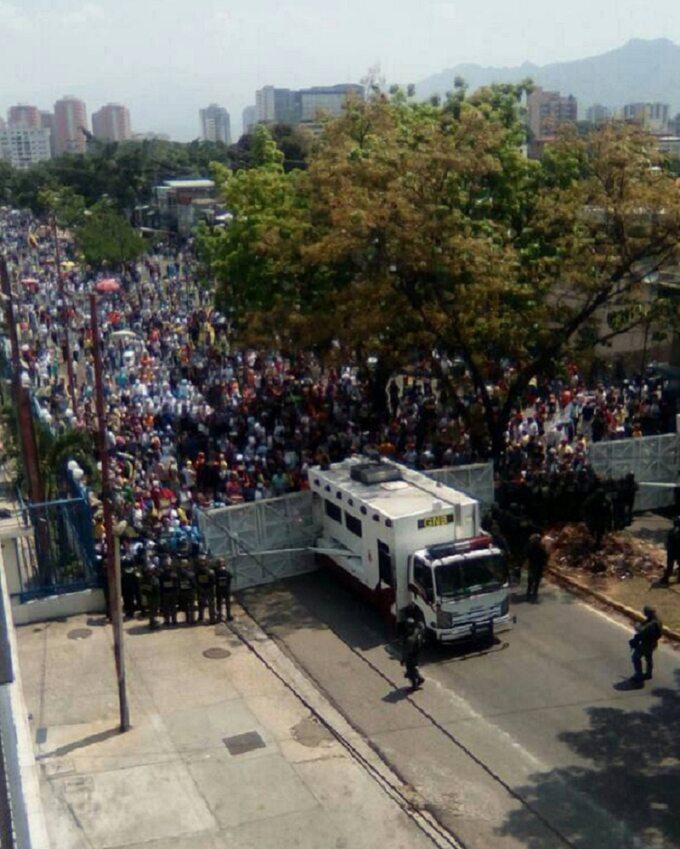 Protesty wWenezueli