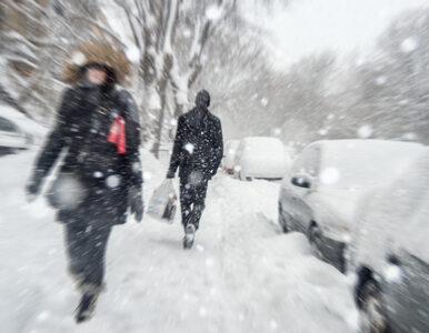 Intensywne opady śniegu i oblodzone drogi. IMGW ostrzega