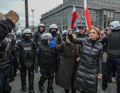 "Spór Bosaka i Scheuring-Wielgus na antenie Polsatu. ""Hańbi pani mandat..."
