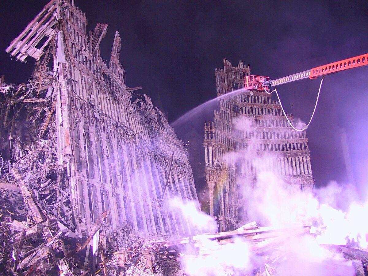Strefa zero. Zdjęcia z World Trade Center po zamachu