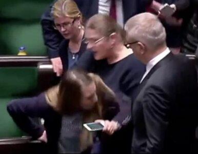 """Posłanka PO publikuje wideo z incydentu z Pawłowicz. """"Może nie Myszka,..."""
