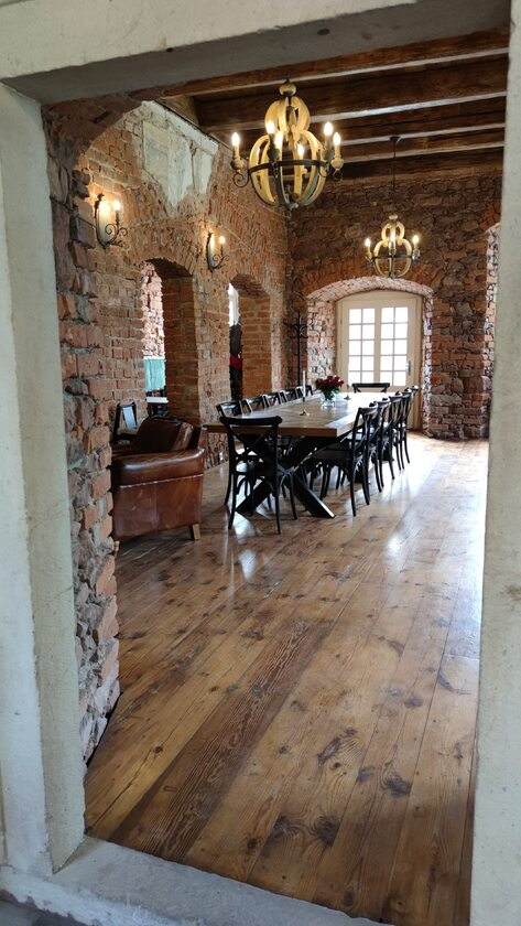 Wnętrze, Zamek Sarny
