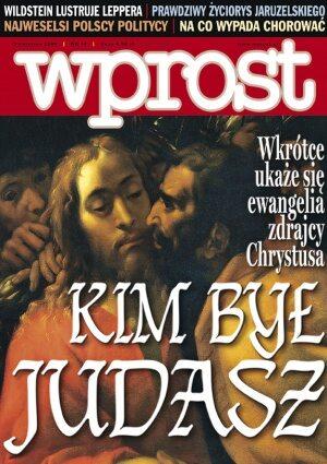 Okładka tygodnika Wprost nr 14/2006 (1217)
