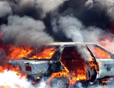 Wybuch samochodu pułapki na półwyspie Synaj