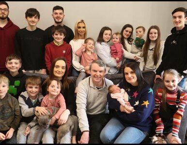 Mają 21 dzieci. Największa rodzina w Wielkiej Brytanii zdradziła, ile...