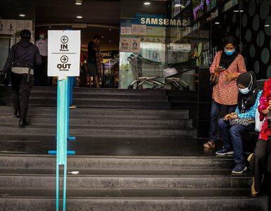 Powrót pandemii w Malezji. Zamknięto większość fabryk i centrów handlowych