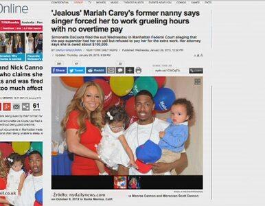 Mariah Carey pozwana przez nianię swoich dzieci