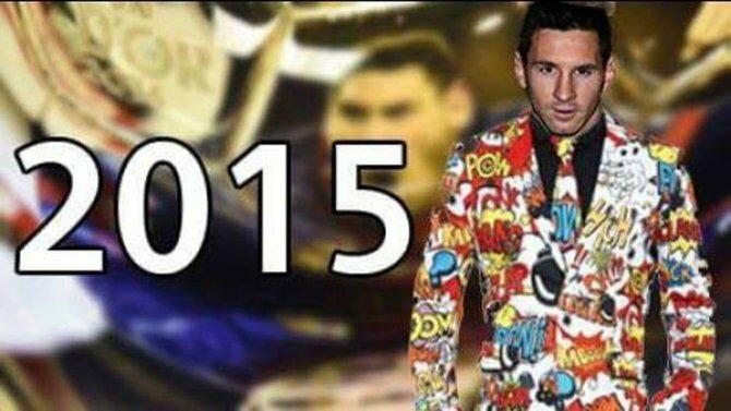 I znowu strój Messiego... (fot. internet)