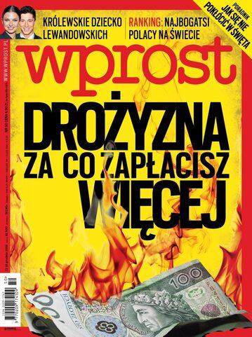 Okładka tygodnika Wprost nr 50/2016 (1766)