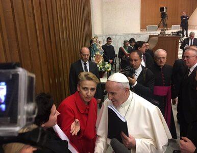 Scheuring-Wielgus spotkała się z papieżem Franciszkiem. Dała mu raport o...