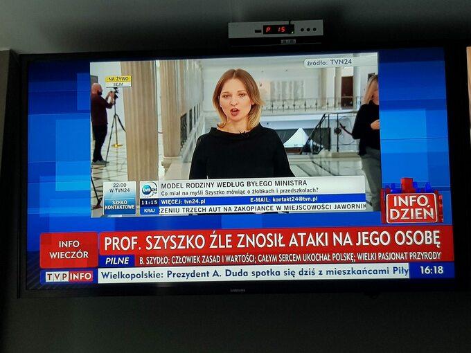 Screen zTVP Info