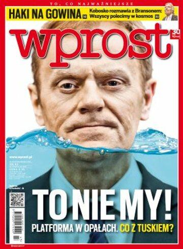 Okładka tygodnika Wprost nr 43/2012 (1549)