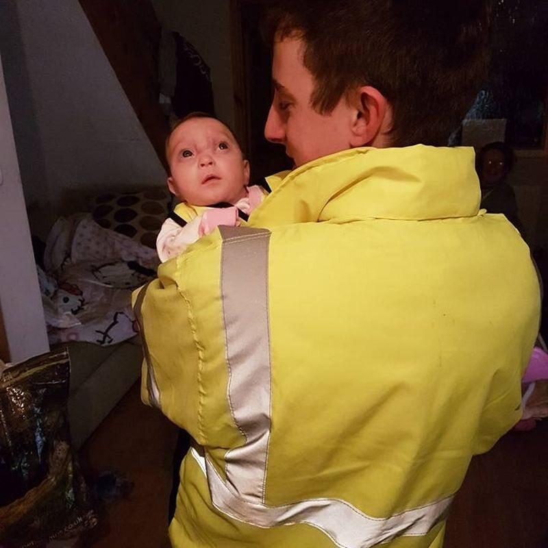 Karlie z ojcem