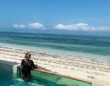 Beata Kozidrak na Zanzibarze. Internauci zirytowani: Śmieje się pani...