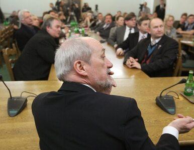 Macierewicz bez immunitetu
