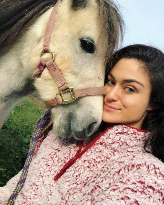 Adri Rachelle i jej koń