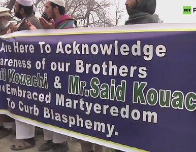 Pakistańskie ugrupowanie religijne upamiętniło terrorystów z Francji