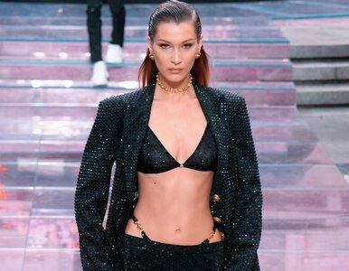 Najlepsze modelki na pokazie nowej kolekcji Versace. Donatella oddała...