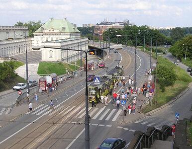 Warszawa: trasa W-Z świeżo po remoncie... znów do remontu