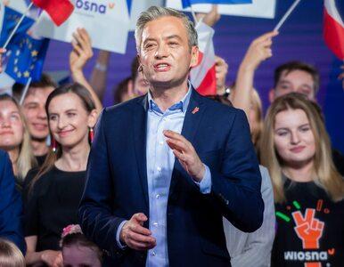 Wybory parlamentarne 2019. Biedroń chce do koalicji