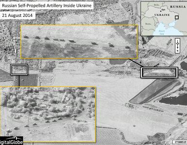 NATO publikuje zdjęcia satelitarne rosyjskich wojsk na Ukrainie