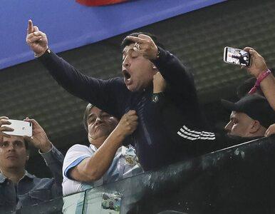 Mundial 2018. Mimo obraźliwych gestów, Maradona dostaje dziennie 10 tys....