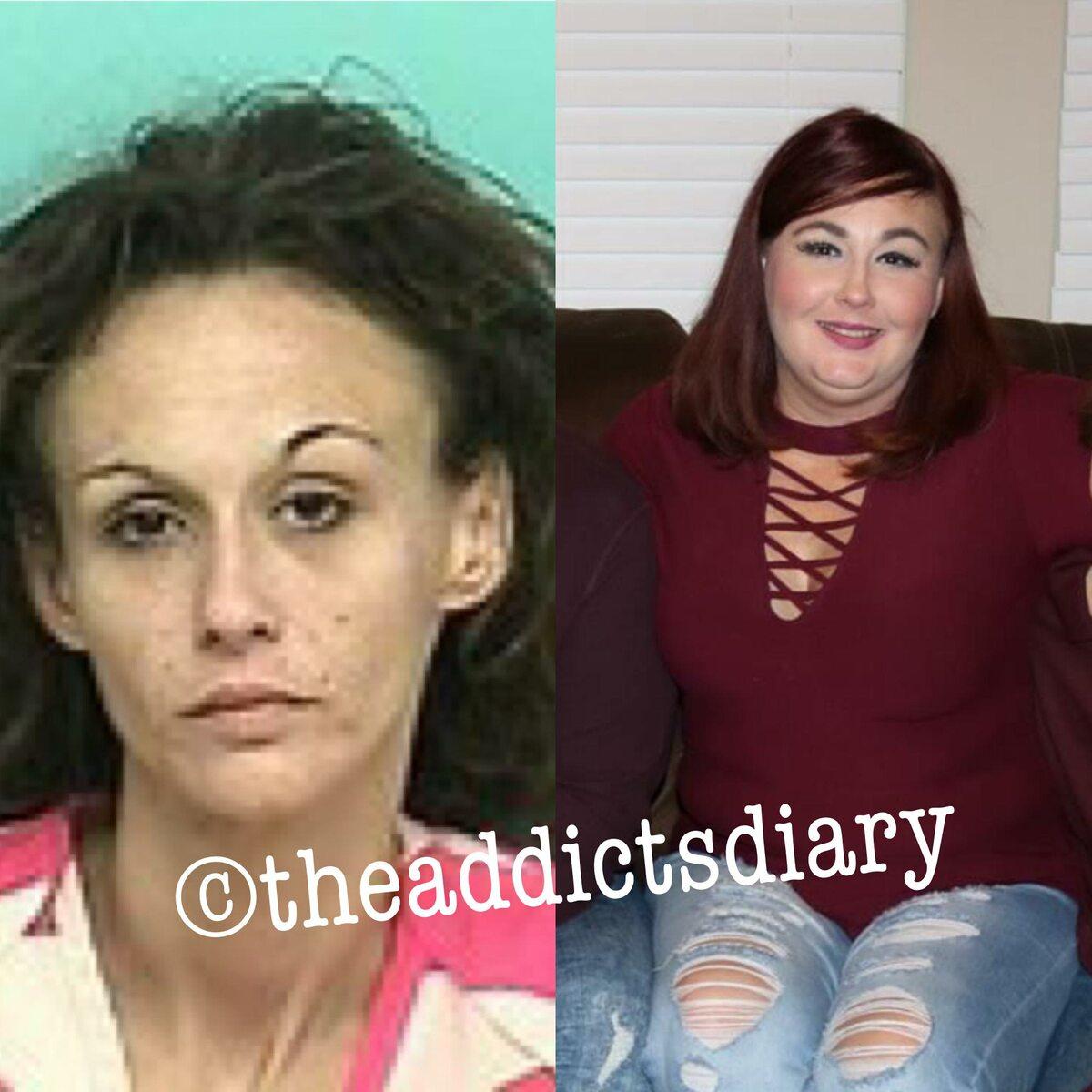 Przed i po odstawieniu narkotyków