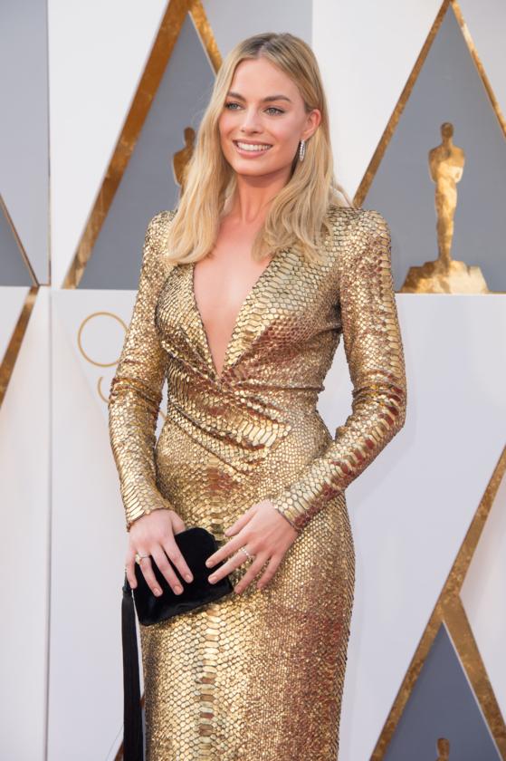 Margot Robbie podczas 88. ceremonii rozdania Oscarów w 2016 roku