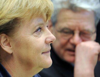 Piwna kąpiel Merkel (video)