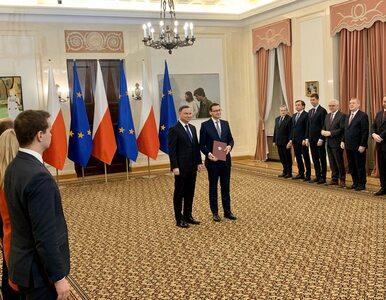 Andrzej Duda desygnował Mateusza Morawieckiego na premiera