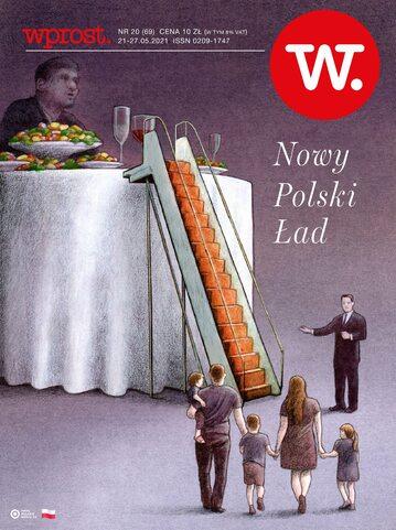Okładka tygodnika Wprost nr 20/2021 (1985)