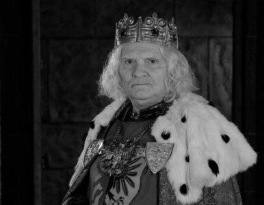 """Nie żyje Wiesław Wójcik. Aktor był znany z """"Korony królów"""", czy filmów..."""