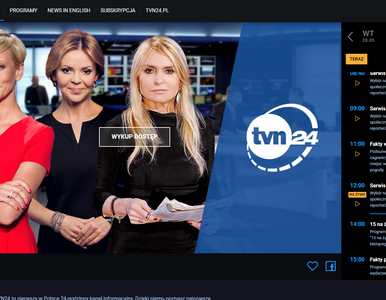 Startuje nowy serwis VOD od TVN24. Telewizja informacyjna w internecie