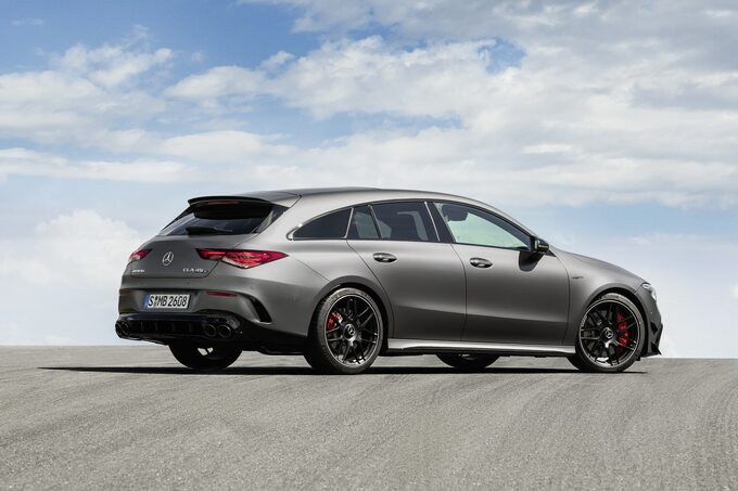 Nowy Mercedes-AMG CLA 45 4Matic+ Shooting Brake