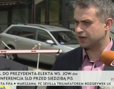 """""""Mówimy stanowcze nie dla JOW-ów"""". SLD apeluje do Dudy"""