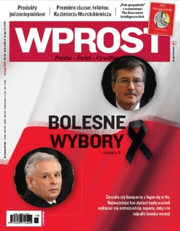 Okładka tygodnika Wprost nr 19/2010 (1422)