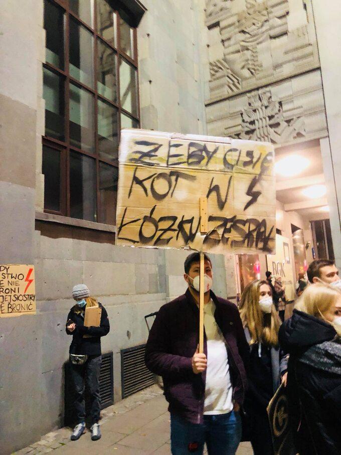Protesty na ulicach