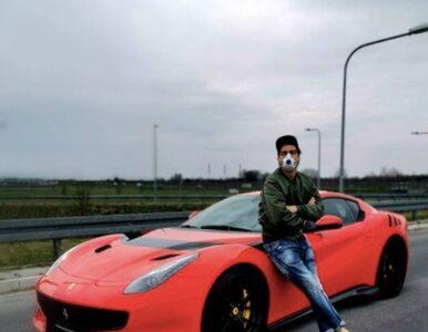 250 km/h po publicznej drodze? Kuba Wojewódzki wrzuca zdjęcie Ferrari