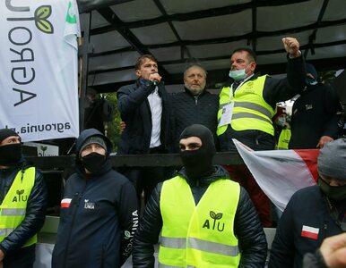 Awantury podczas protestu rolników. Spalone opony i interwencja policji...